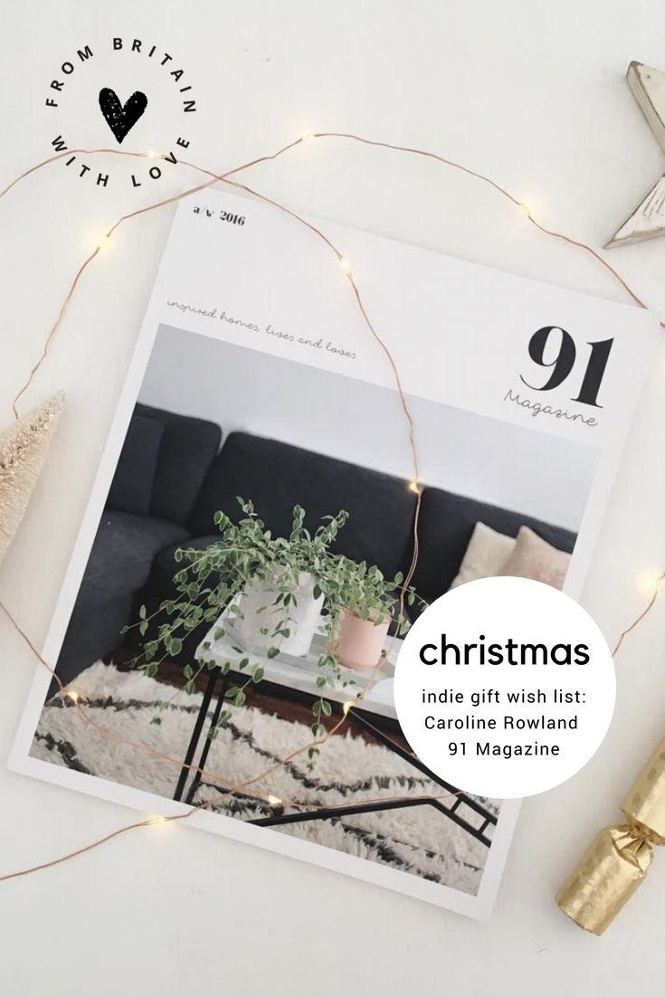 Editor of 91 magazine, Caroline Rowland, shares her beautiful ...