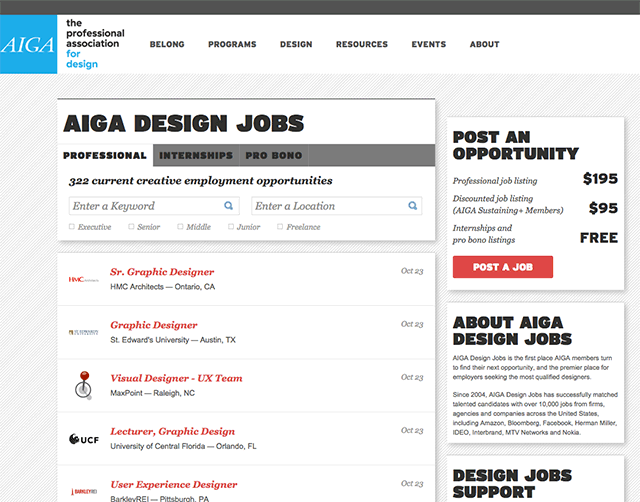 Aiga Design Jobs  Work