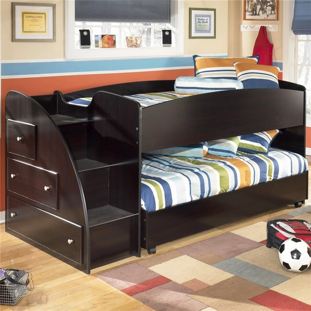 Raised Double Bed With Storage