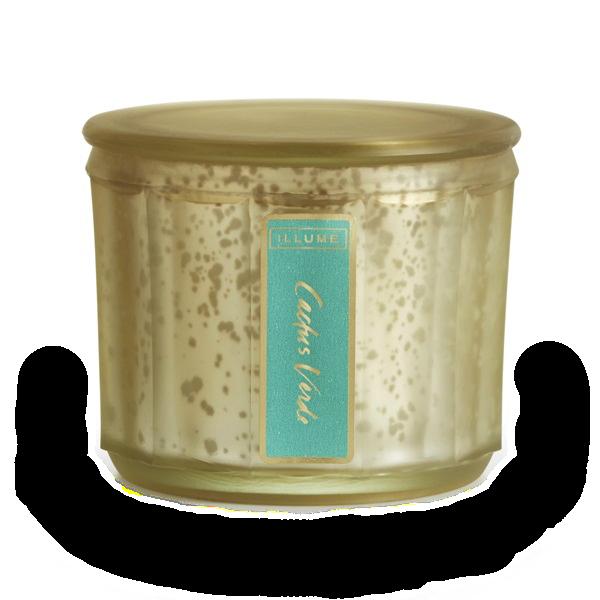Illume Cactus Verde Lustre Candle Jar Mercury Glass Candles Glass Jar Candles Candle Jars