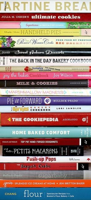 @Bakerella's list of cookbook recommendations. Add to your must-reads!