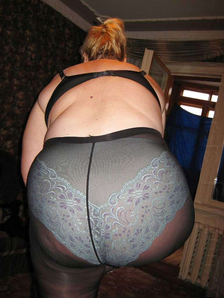 Ssbbw in pantyhose