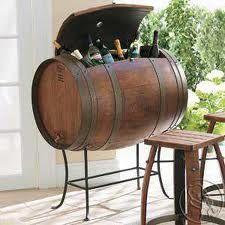 Wine Barrel ice chest...
