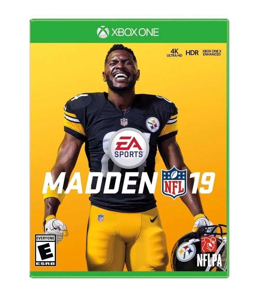 Madden NFL 19 Xbox One Microsoft XB1 4K HDR 2018 2019