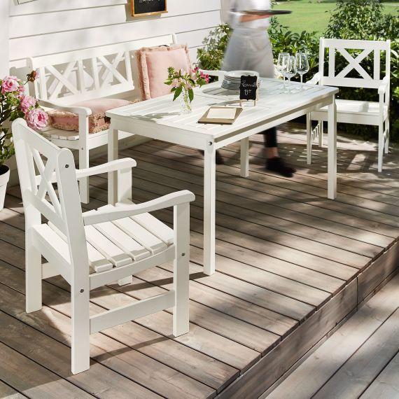 gartenstuhl set 2 tlg landhaus gartenparty gartenm bel garten fr hling sommer terrasse. Black Bedroom Furniture Sets. Home Design Ideas