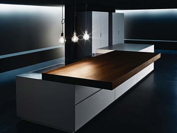 Practical Kitchen Island With Sliding Counter Top Erdexon Com Minimalist Kitchen Kitchen Counter Design Countertop Design