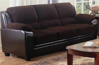 Monika Chocolate Sofa New Co 502811 Furniture Coaster Fine