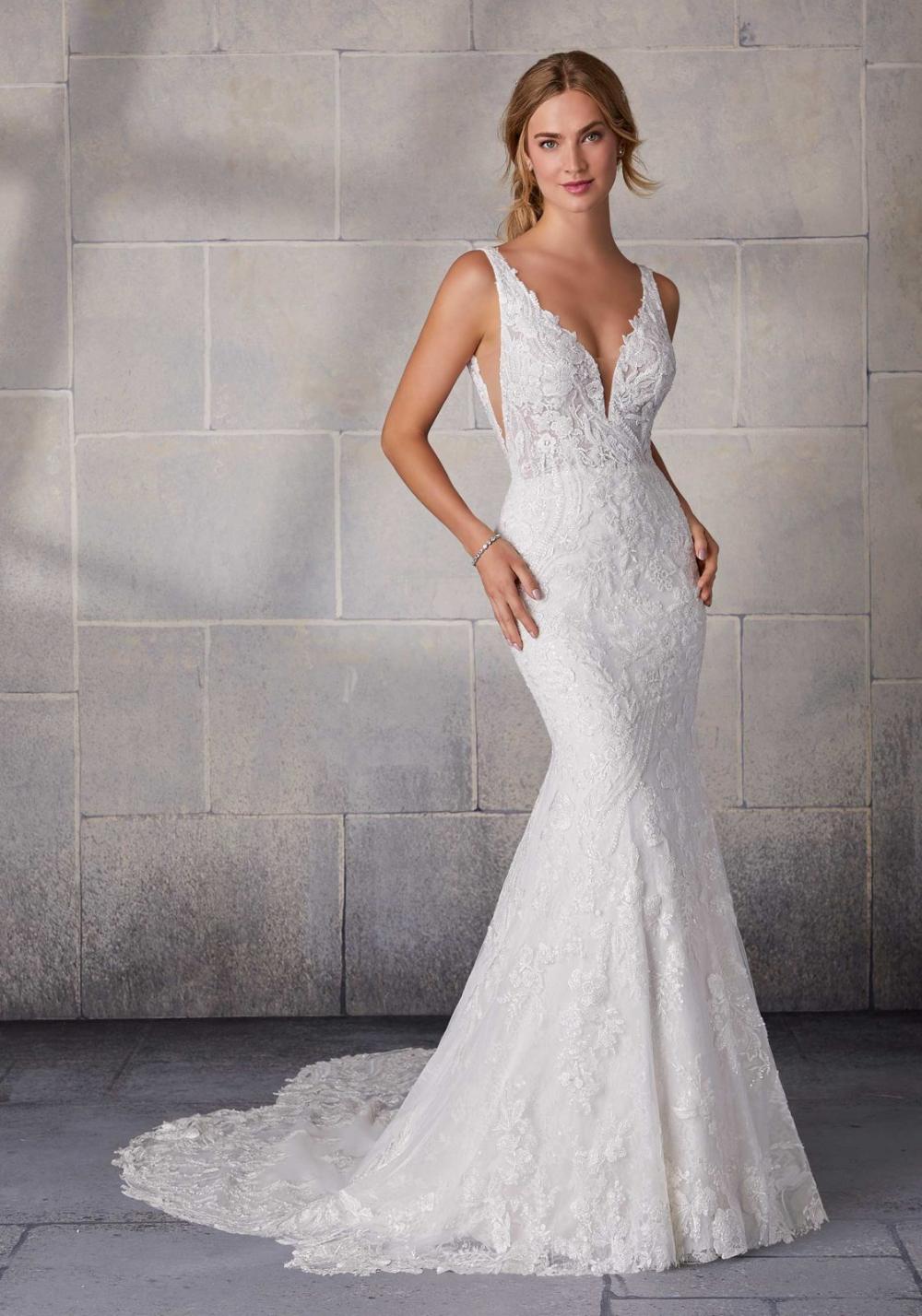 Stefani Wedding Dress Morilee Fit And Flare Wedding Dress