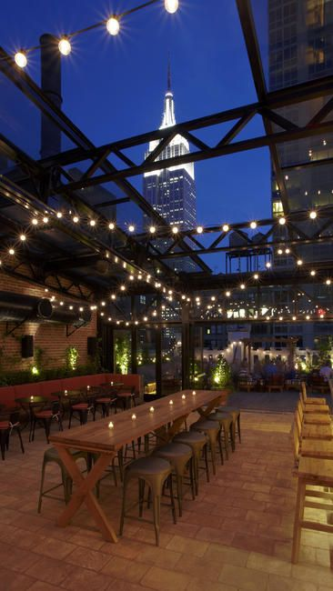 Refinery Hotel Empire State Building Nyc Best Rooftop Bars Midtown New