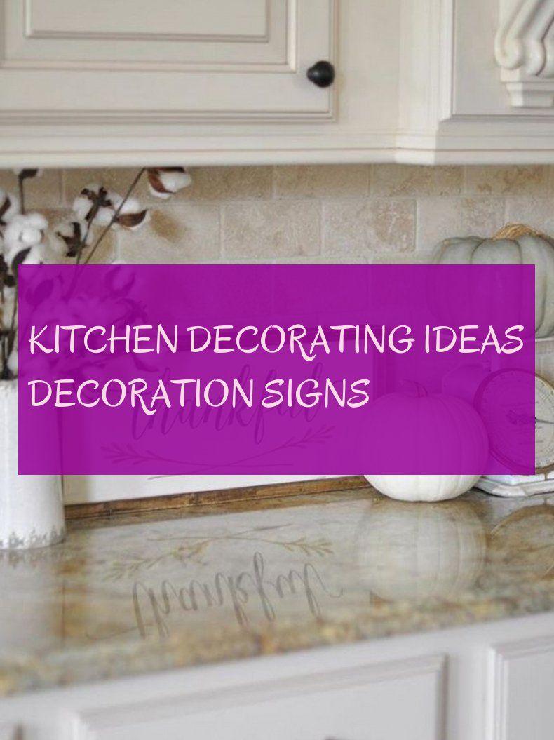 küche deko ideen dekoration zeichen
