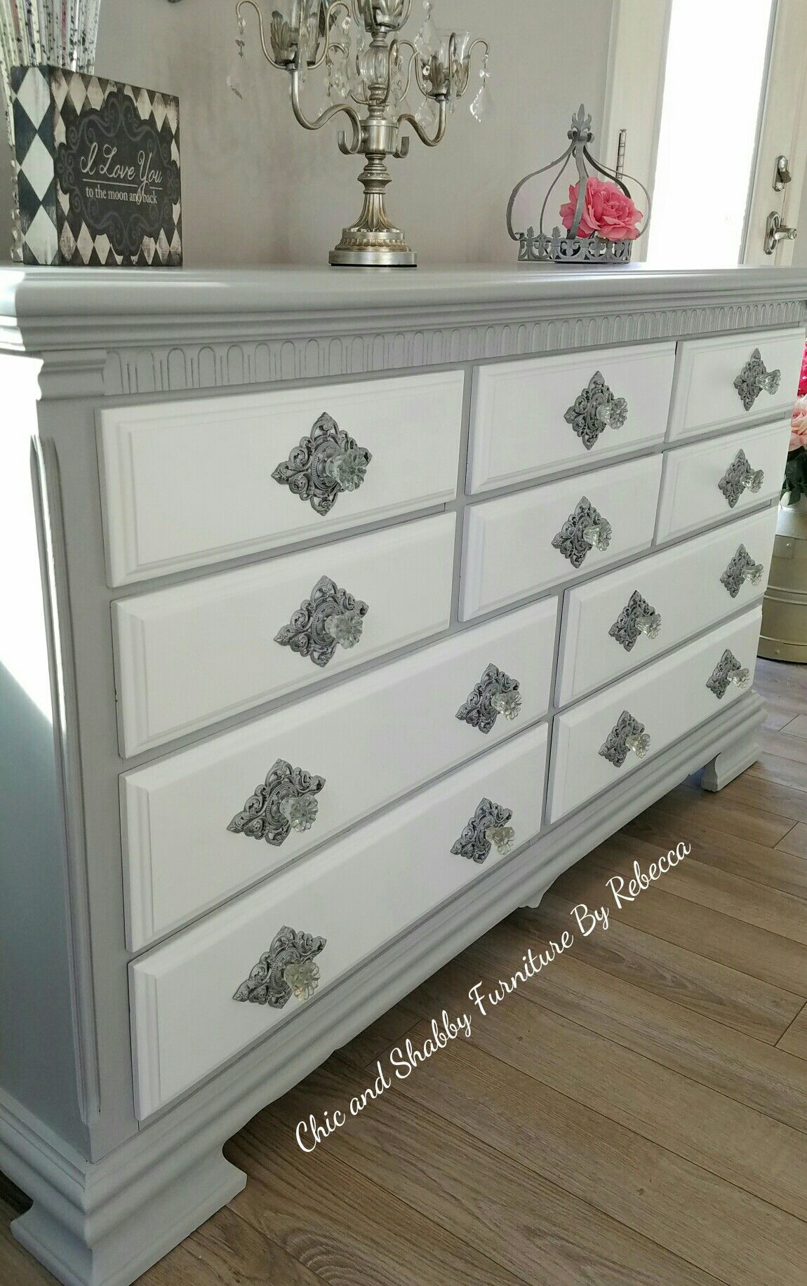 Pin On My Furniture Makeovers Upcycled Repurposed And