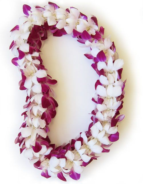 Fresh Hawaiian Orchid Leis Loose Orchid Blooms Orchid Lei Orchid Arrangements Hawaiian Lei