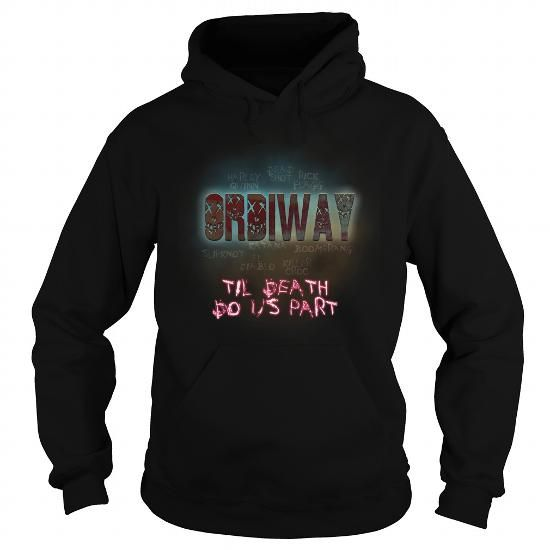 I Love ORDIWAY-the-awesome T shirts