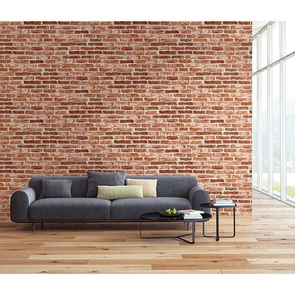 Papier Peint Brique Rouge 3d Wall De Lutece Ref Ltc Td30201