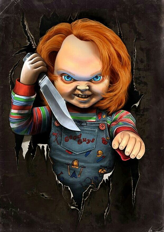 Chucky The Killer Doll Chucky Pinterest Chucky Horror And Movie