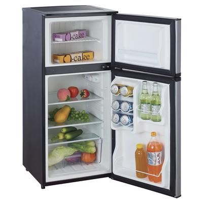 Magic Chef 4 3 Cu Ft Compact Refrigerator Stainless Look Home Depot Canada Mini Fridge Compact Refrigerator Refrigerator
