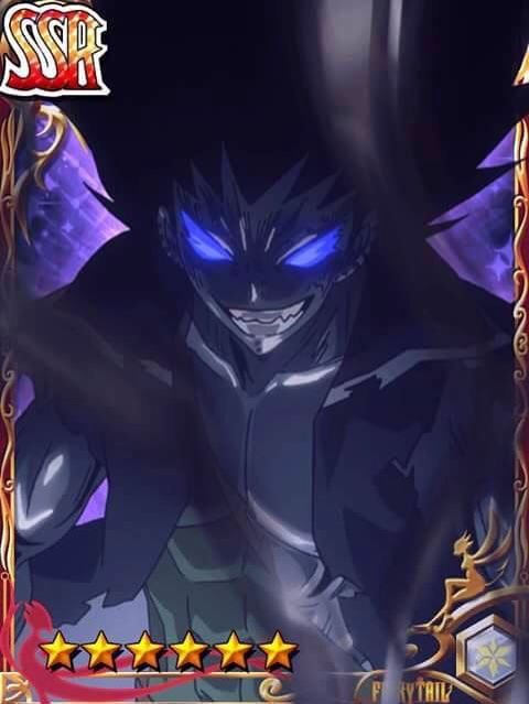 Fairy tail cards- Gajeel
