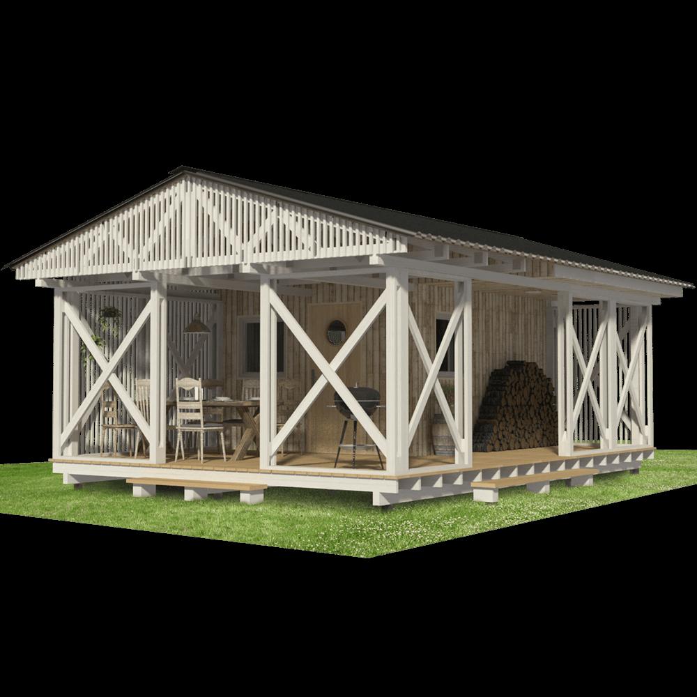 Garden Storage Shed Plans Complete Set Of Small Backyard Shed Blueprints Construction Progress Comments In 2020 Diy Shed Plans Garden Storage Shed Shed Plans