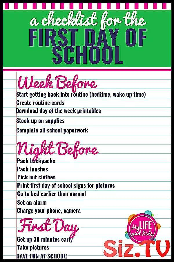 How to Have a Great First Day of School Help your How to Have a Great First Day of School Help your