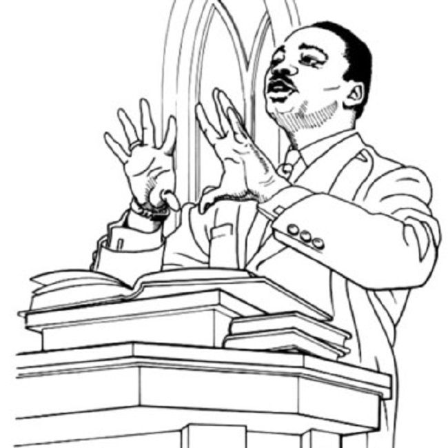 martin luther king coloring pages for preschoolers | coloring Pages