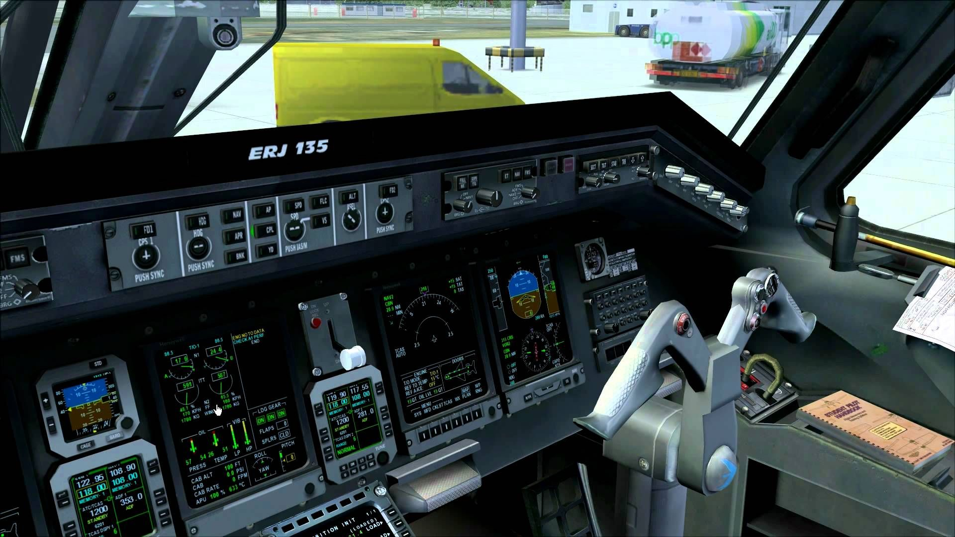 Tutorial: Embraer ERJ 135 / 145 Startup from Cold & Dark [FS2004/FSX]