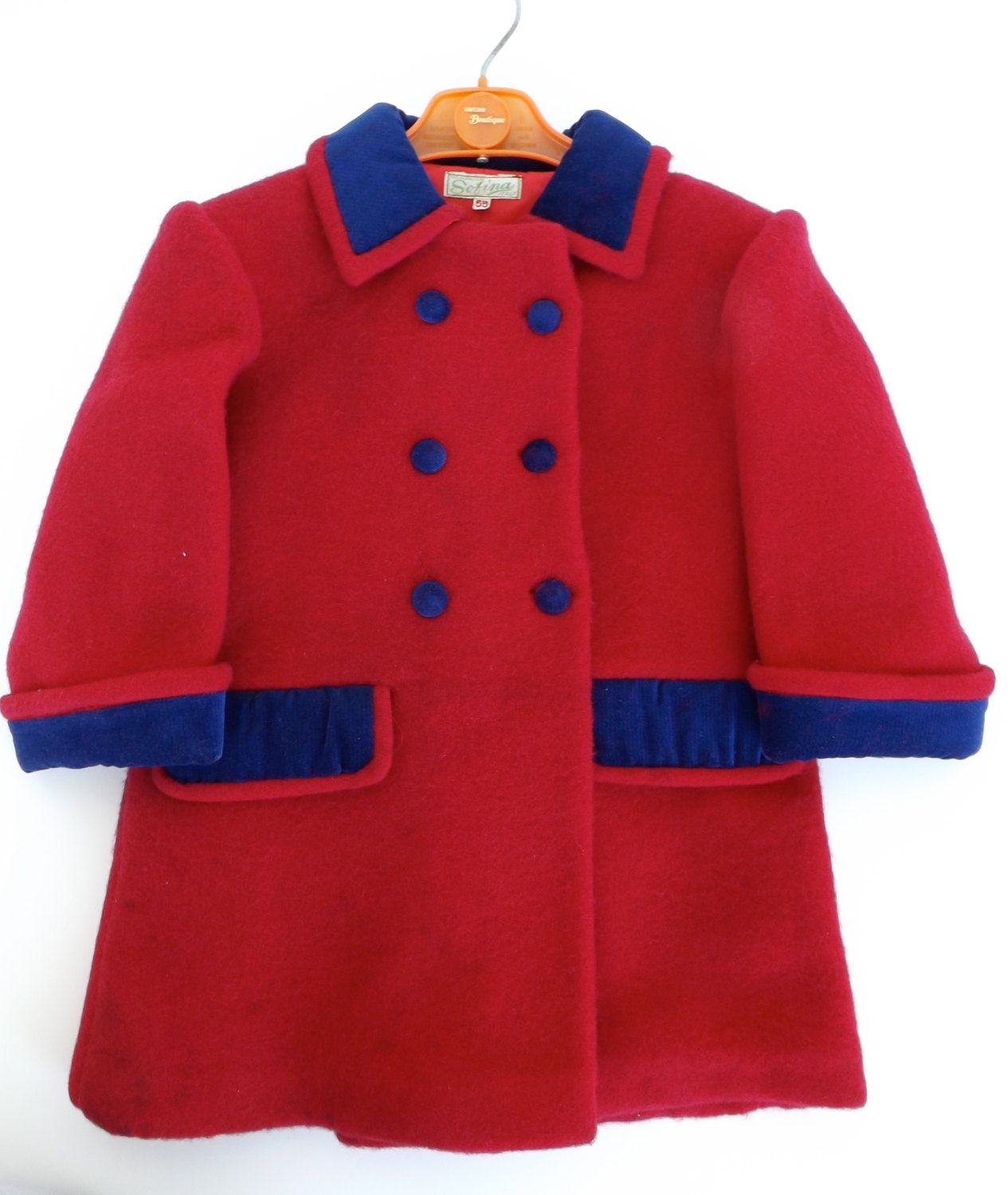 Coat the original 60's baby wool 100% by marituVintage on Etsy https://www.etsy.com/listing/165963594/coat-the-original-60s-baby-wool-100
