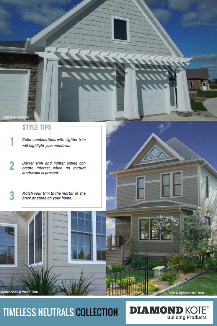 Choosing A Siding Color Is A Big Decision Consider A Neutral Color For A Timeless Look Our Home Exterior Stylin House Exterior Exterior House Colors Exterior