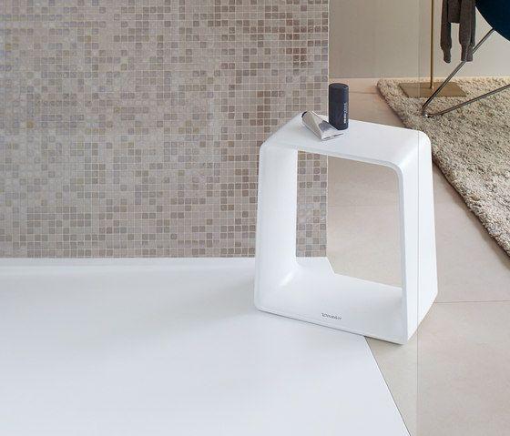 P3 Comforts- Hocker von DURAVIT Badhocker   Badbänke scandi - badezimmer zubehör günstig