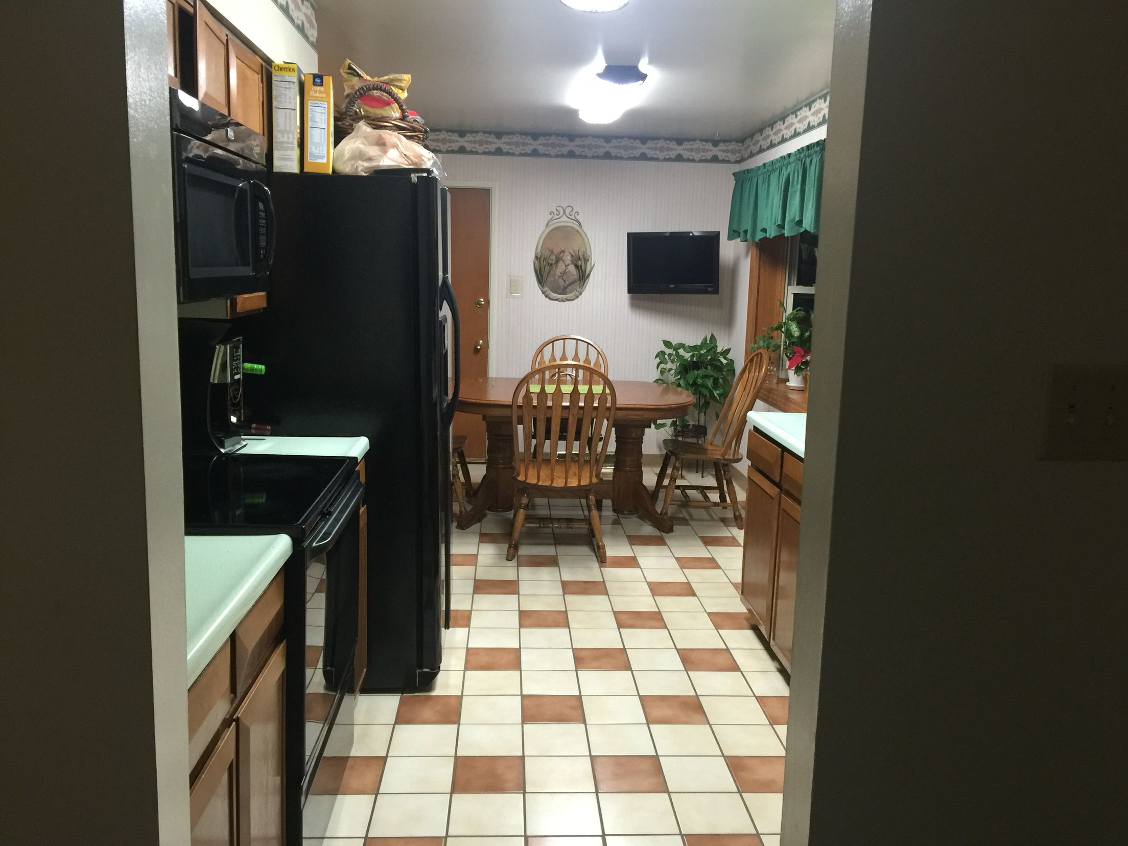 Pin By Brenda Overton On Galley Kitchen Remodel Before After - Remodeling a galley kitchen