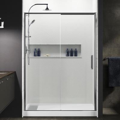 Kohler Torsion 60 In W X 76 875 In H Frameless Sliding Shower
