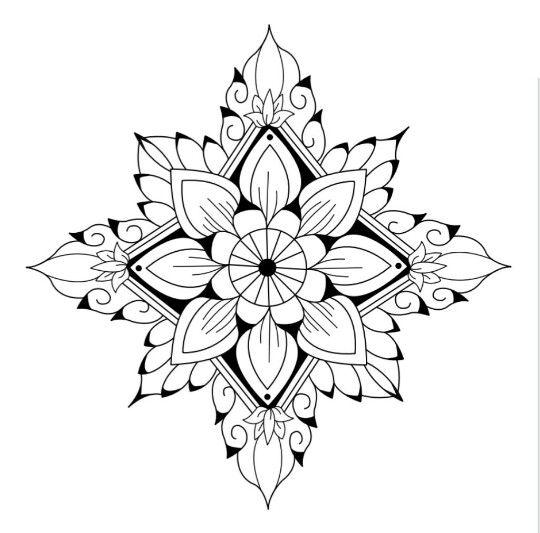 Pin Von Nieves Auf Coloring Pages Mandala Malvorlagen Ausmalbilder Mandalas Zeichnen