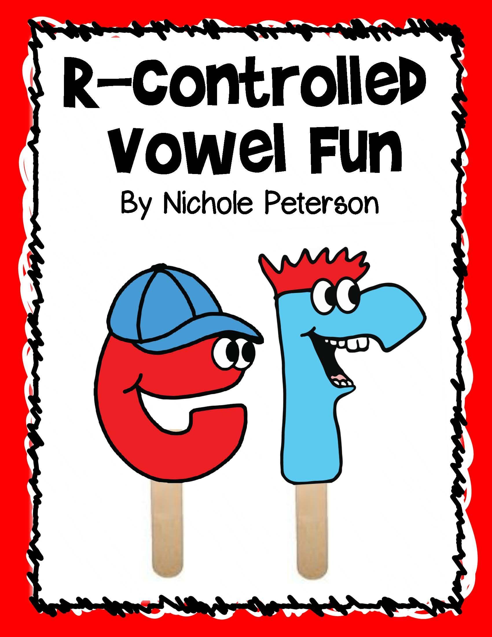 R Controlled Vowel Fun