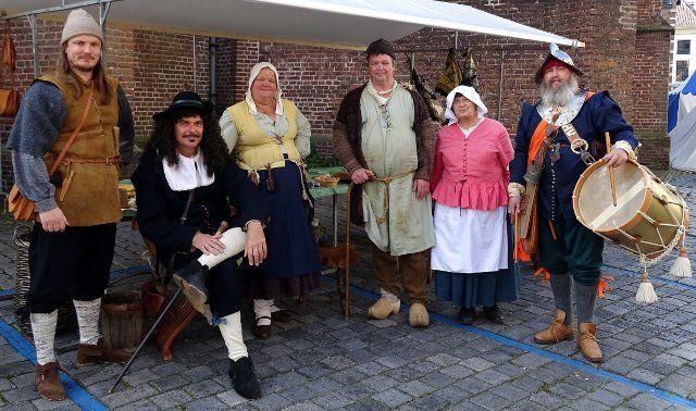 Levende Geschiedenis groep Die Luyden van 't Hooge Veene