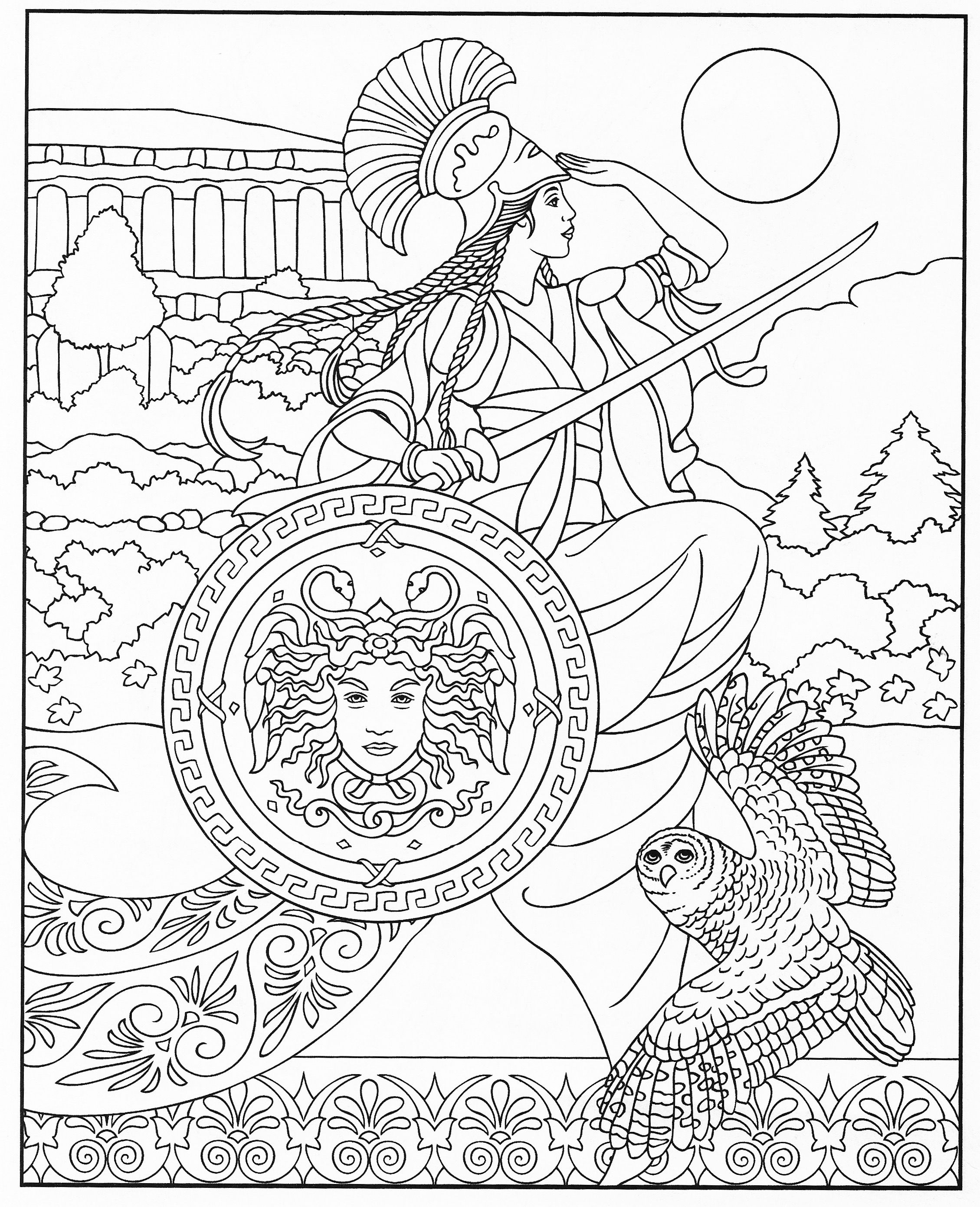 Pin de Małgorzata Kitka en Coloring pages to print - Fantasy | Pinterest