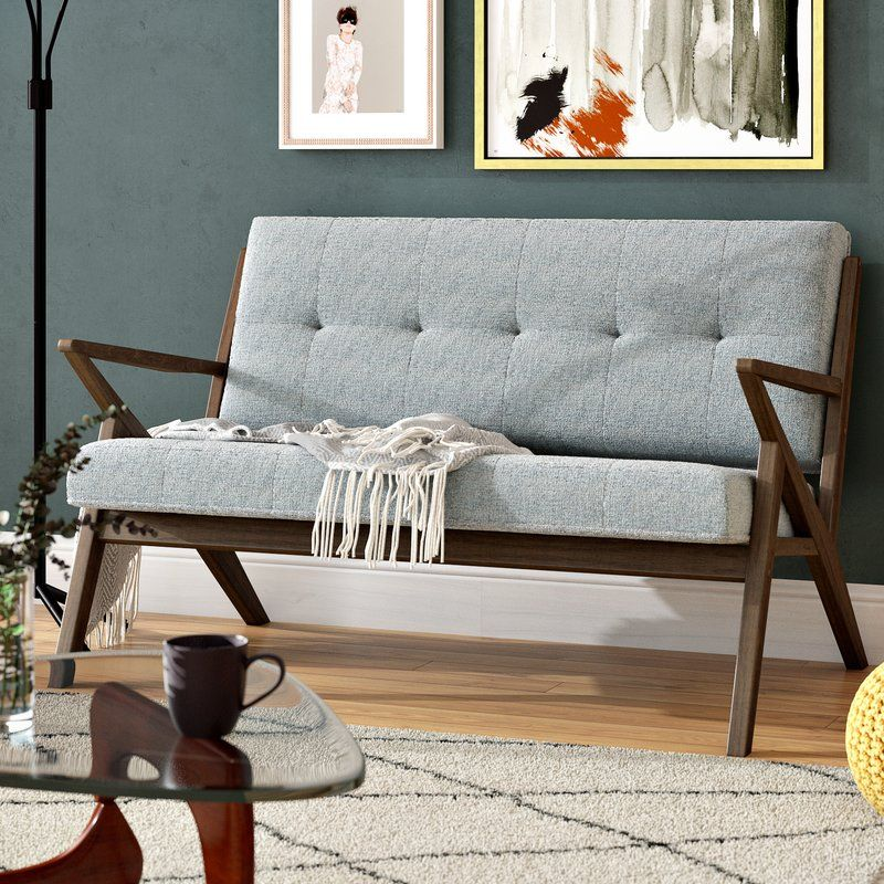 Cambridge Loveseat Reviews Allmodern Love Seat Furniture