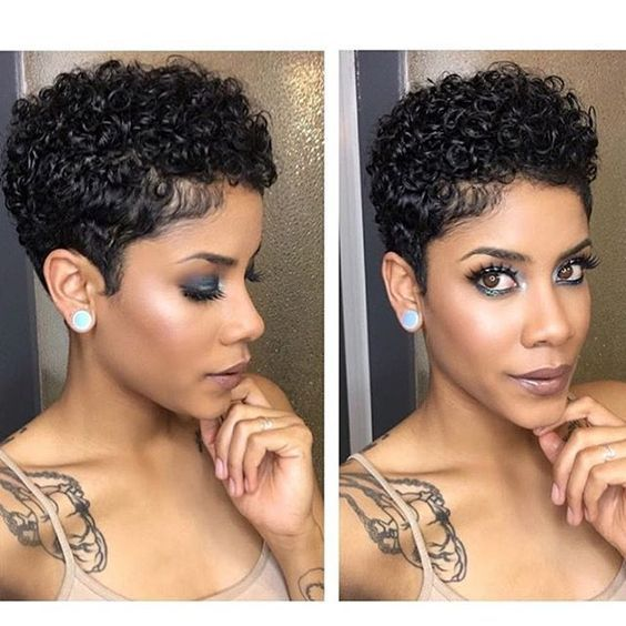 Short Natural Hairstyles For Black Women Short Natural Curly