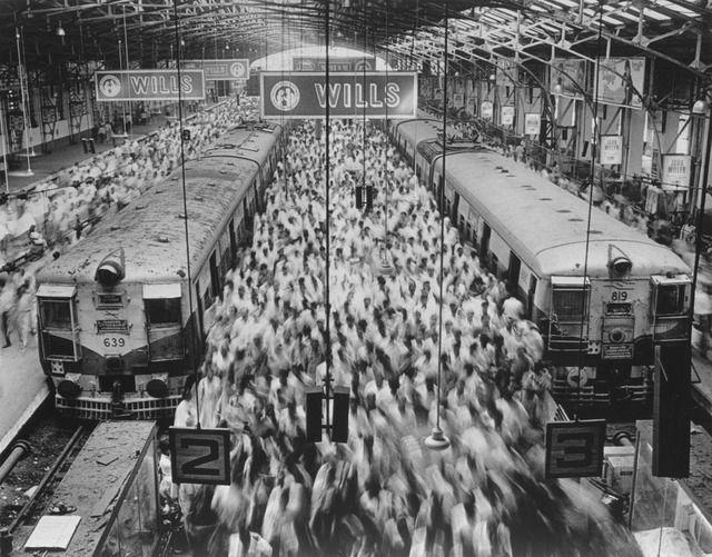 Sebastião Salgado, 'Church Gate Station, Western Railroad Line, Bombay India,' 1995, Sundaram Tagore Gallery