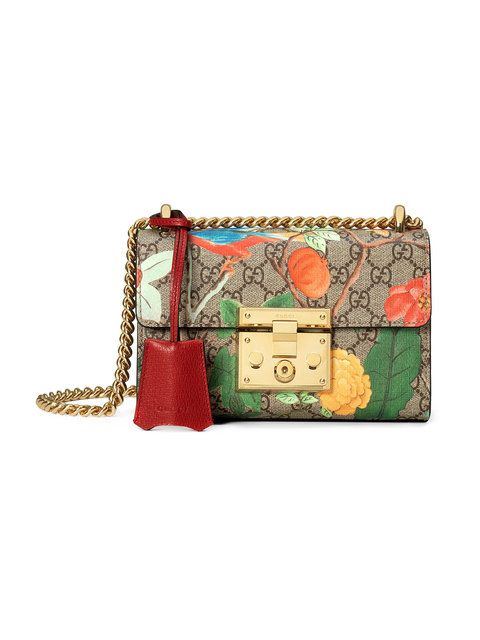 8a147ca6d1aded GUCCI Gucci Tian Padlock Shoulder Bag. #gucci #bags #shoulder bags #hand  bags #canvas #leather #