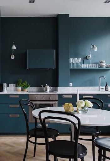 bold kitchen color matching cabinets and wall color on best colors to paint walls id=43273