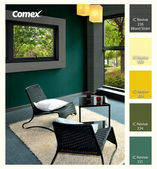 Paleta de colores para interiores comex - Gama de colores para interiores ...
