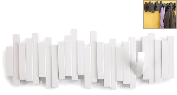 Sticks Multi Hook Weiss Garderobe Hakenleiste Wandgarderobe Und
