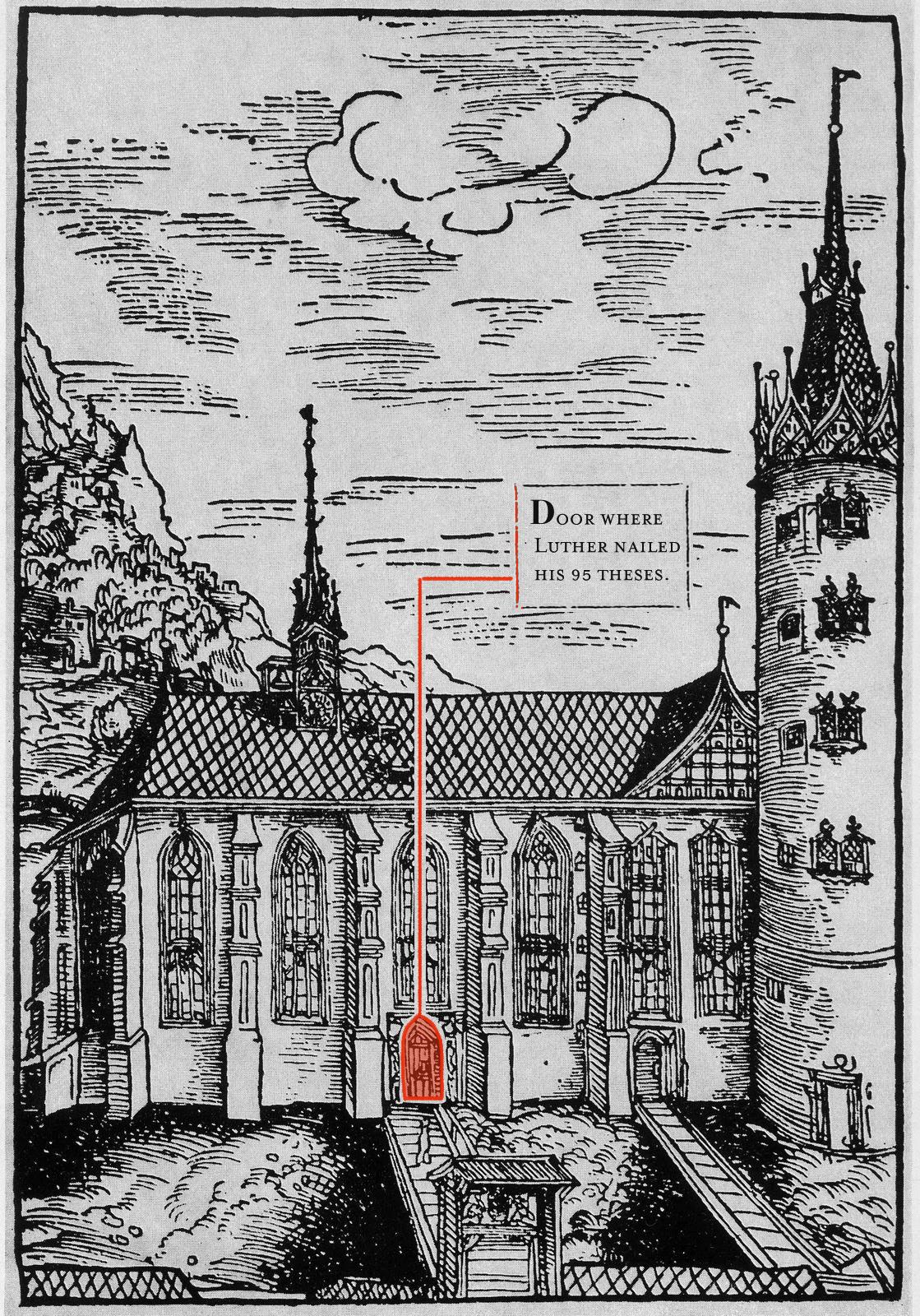 Woodcut By Cranach