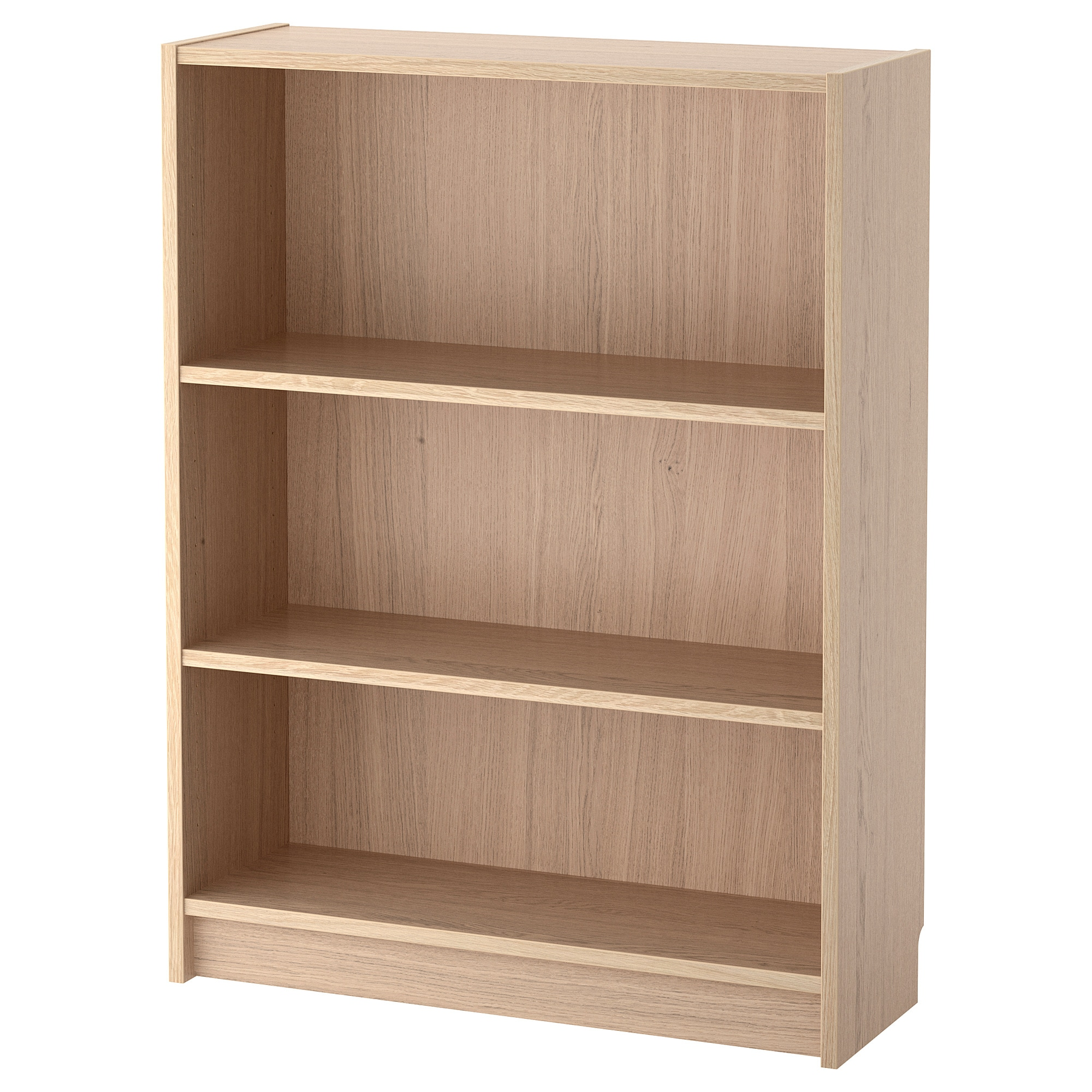 Billy White Stained Oak Veneer Bookcase 80x28x106 Cm Ikea Billy Bucherregal Bucherregal Bucherschrank