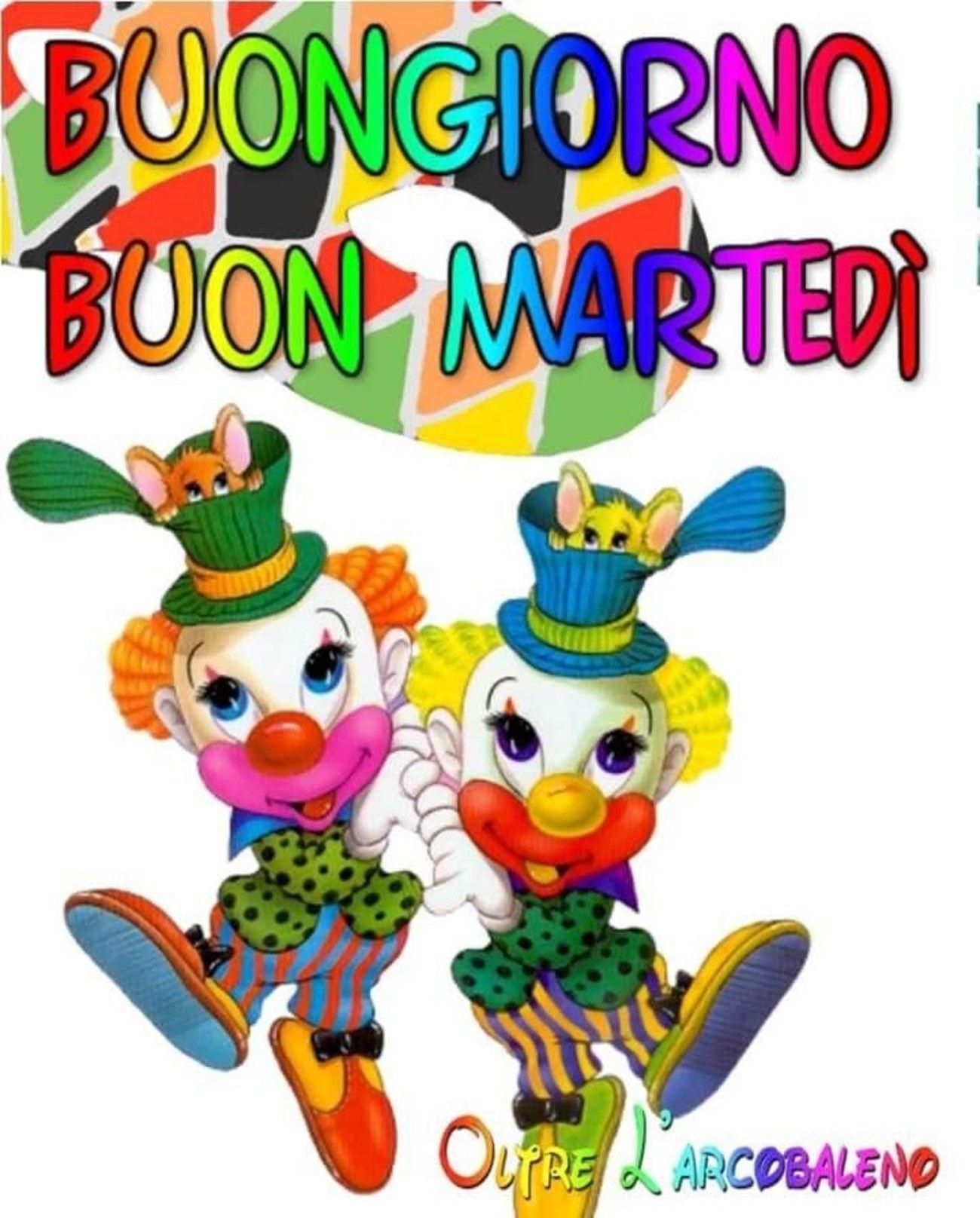 Buon Martedi A Tema Carnevale Nel 2020 Buongiorno Martedi