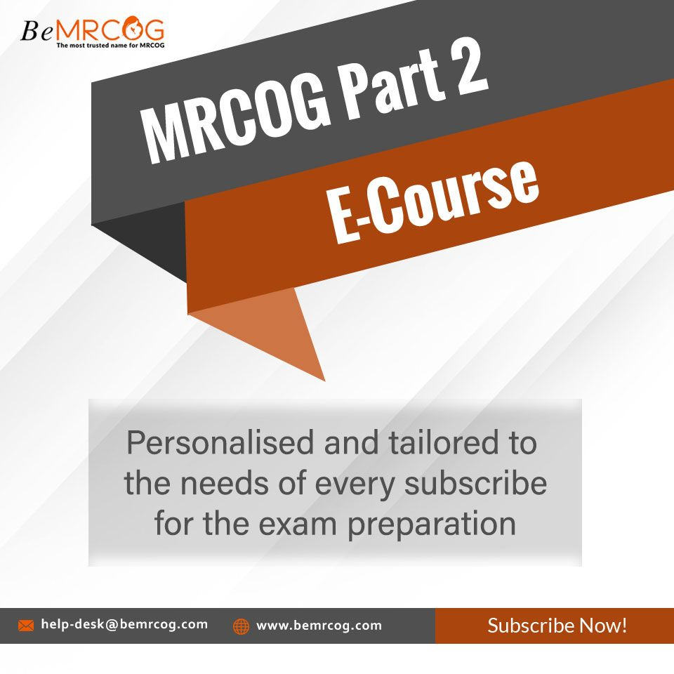 Our MRCOG Part 2 E-Course is fully supervised and a student can get the study advice at each and ...