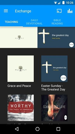 Stay connected with the gospel of grace from Exchange Church Belfast. Watch, listen & share amazing teaching each week that will ground you in the love & grace of God as we unpack the truth of the Father's heart for every person. Also included is a daily Bible reading plan, the Grace for Today daily devotional and lots more content to keep you connected to the truth that God is for you! For more information on Exchange visit www.exchangechurchbelfast.com<p>The Exchange Church Belfast App was…