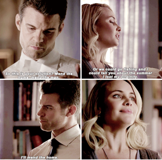 #TheOriginals #2x13 • The Devil is Damned • Elijah and Cami