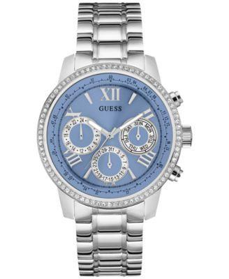 GUESS Women s Feminine Classic Sport Stainless Steel Bracelet Watch 42mm  U0559L4 2050d84e005