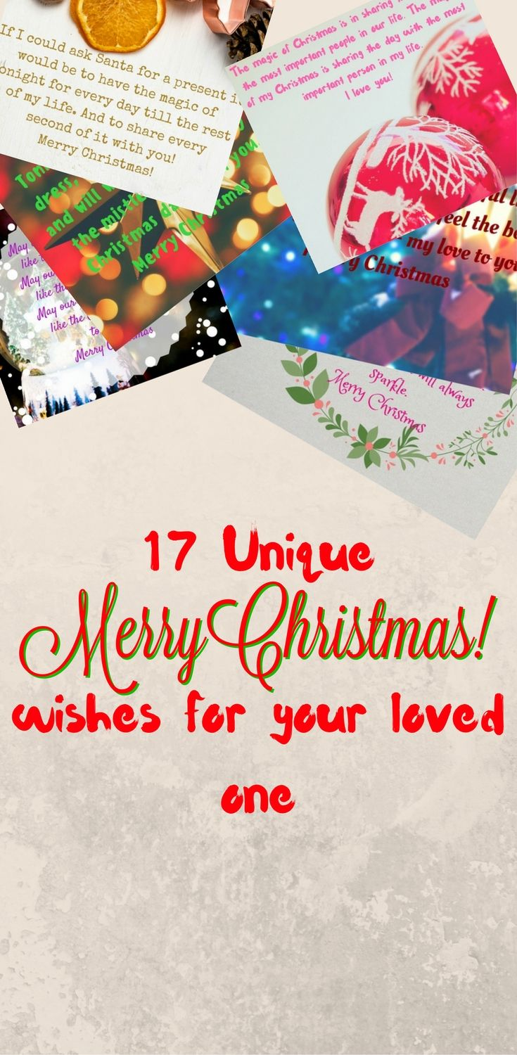 Unique 17 Merry Christmas Wishes For Loved Ones Christmas Tree