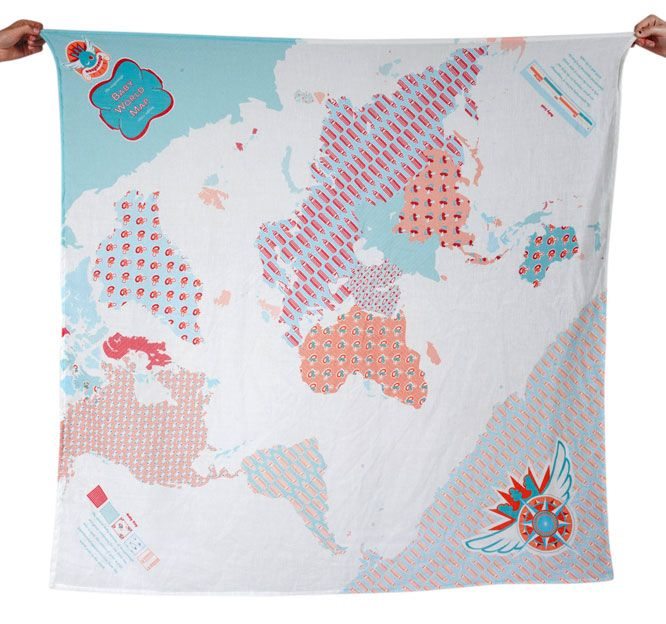 Baby theme world map the compass is the most interesting part baby theme world map the compass is the most interesting part weegoamigo prints muslin swaddle gumiabroncs Images